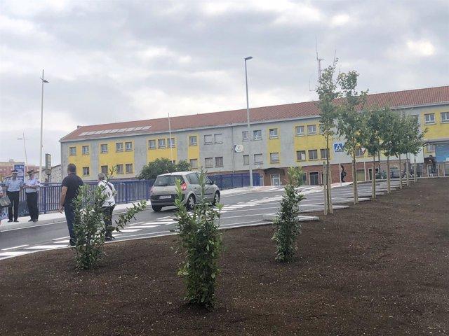 Inauguración vial Candina