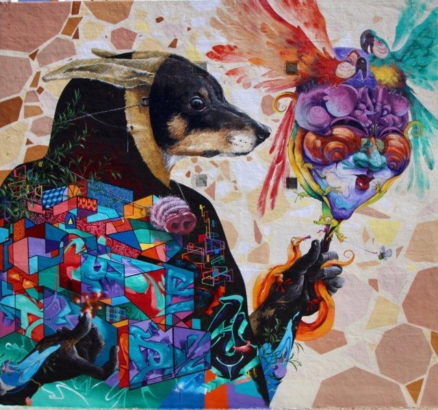 Murales, astistas, grafiti