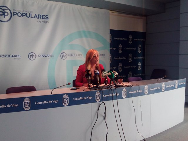 Elena Muñoz, portavoz del PP de Vigo