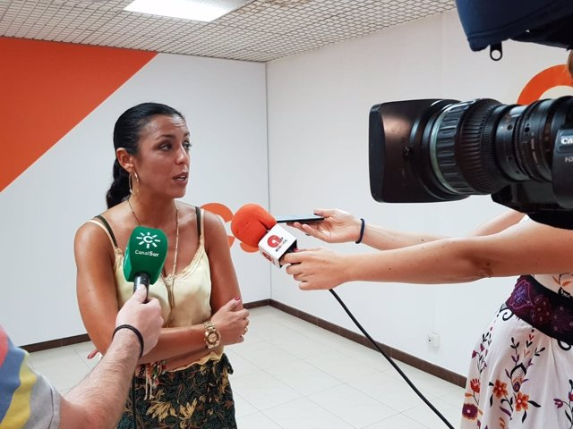 Bosquet, en rueda de prensa en Almería