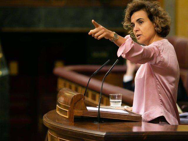 Dolors Montserrat, portavoz del PP en el Congreso