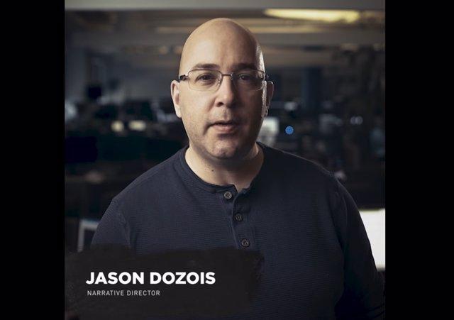 Jason Dozois Director Narrativo de  Tomb Raider