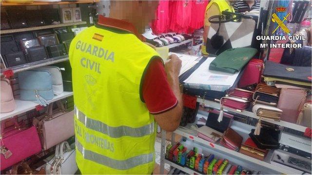 Golpe a las falsificaciones en Benidorm