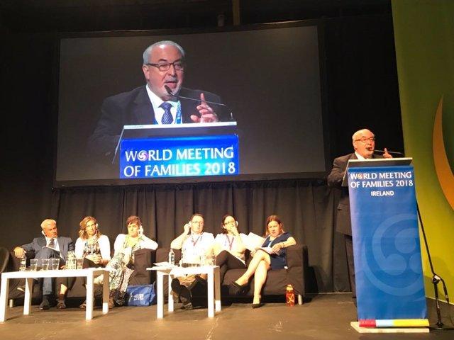 Intervención José Luis Mendoza, presidente UCAM, en Comgreso en Dublín
