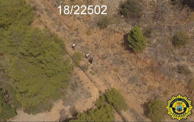 Rescate en la Serra Gelada gracias a un dron