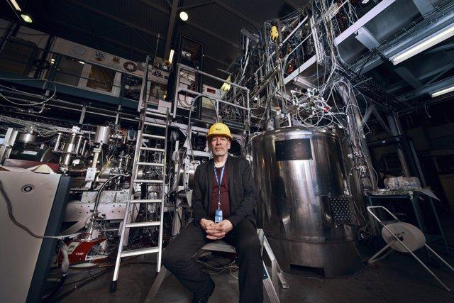 Jeff Hangst, portavoz de ALPHA en el laboratorio de antimateria del CERN
