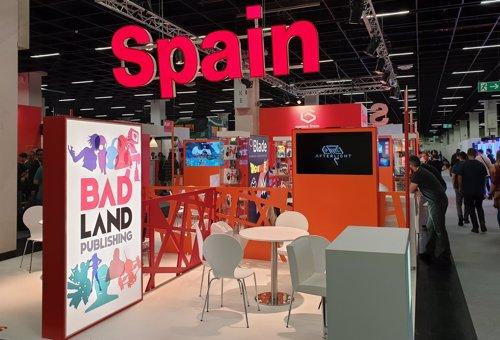 Stand de España en Gamescom 2018