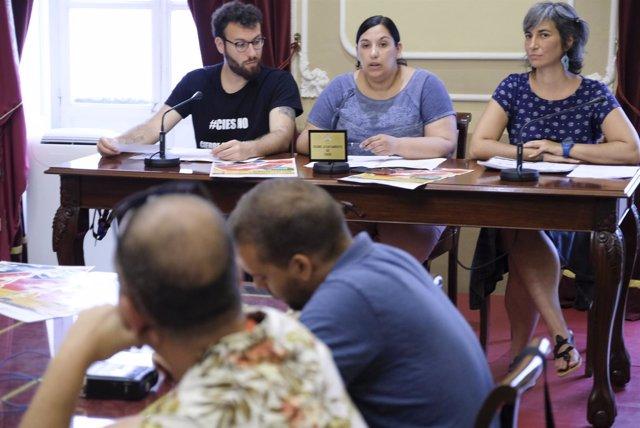 Ana Fernández, concejal del Ayuntamiento de Cádiz