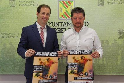 Torrelavega acoge el sábado el VI Torneo Nacional de Balonmano con un 'triangular' con el Navas y el Zamora
