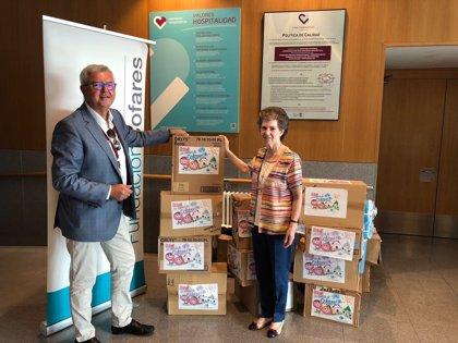 Fundación Cofares dona productos de parafarmacia e higiene para los usuarios del centro Pai Menni de Irmás Hospitalarias