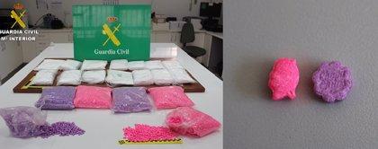 Dos detenidos con 14 kilos de speed y 25.000 pastillas de éxtasis en La Vall d'Uixó (Castellón)