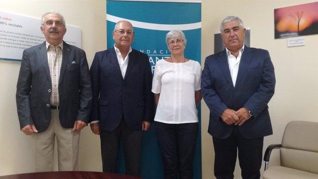 Acuerdo entre la Fundación Atlantic Copper y el Real Club Marítimo de Huelva.