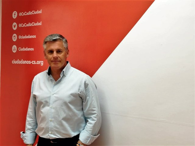 El diputado de Cs en el Congreso por Cádiz, Javier Cano