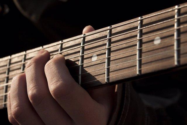Música, guitarra
