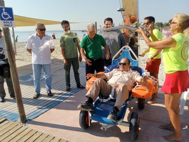 Grúa adaptada para personas movilidad reducida Alcúdia