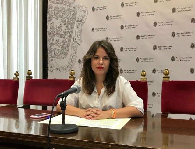 La portavoz adjunta de Ciudadanos en el Ayuntamiento, Lorena Rodríguez