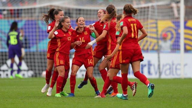 Selección española Sub-20 femenina Mundial