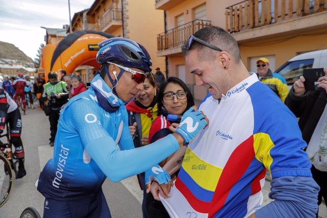 Nairo Quintana en la Volta a Catalunya