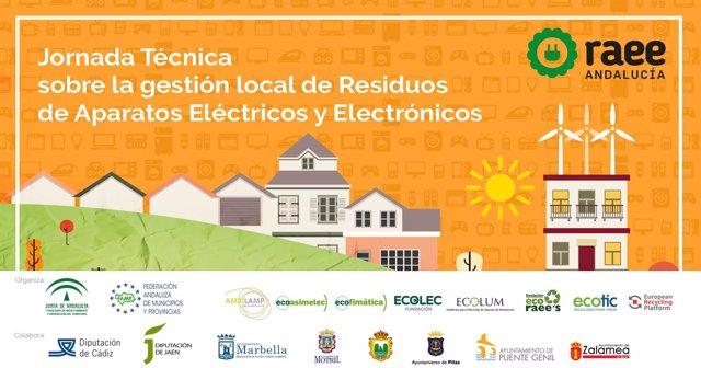 Jornada técnica para gestión de residuos de aparatos eléctricos y electrónicos
