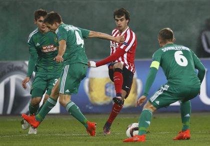 El defensa del Athletic Club Íñigo Lekue se fractura el maleolo peroneo