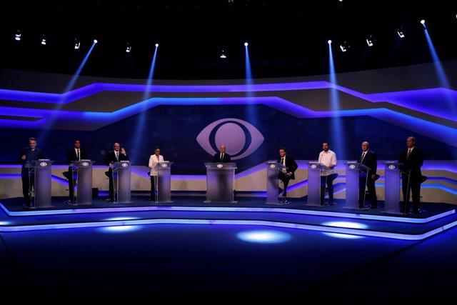 Primer debate presidencial Brasil