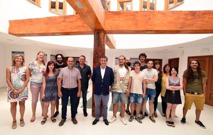 Diez jóvenes se forman como guías del Geoparque gracias al programa Granada Empleo de la Diputación de Granada