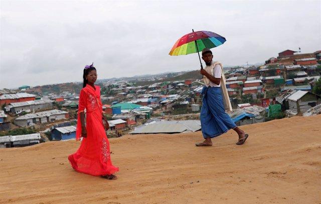 Refugiados rohingyas en Balukhali