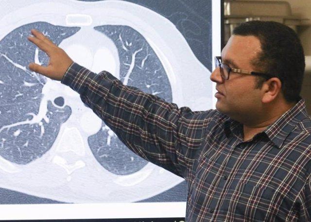 El Profesor Adjunto Ulas Bagci lidera el grupo de ingenieros de la Universidad d