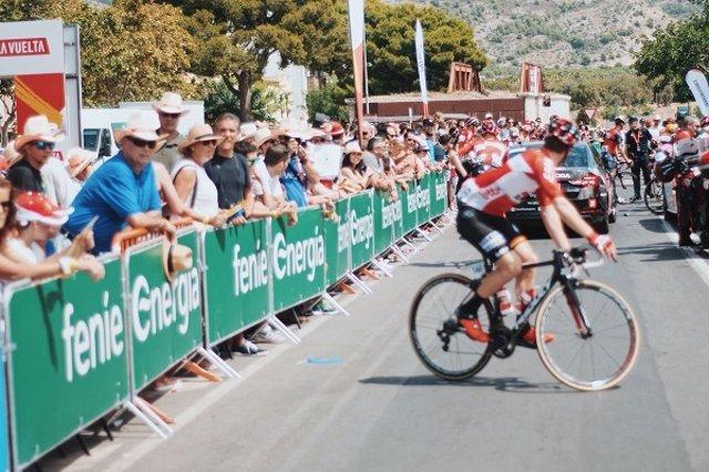 Feníe Energía premia al ciclista más combativo