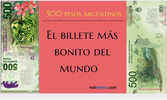 El billete más bonito del mundo