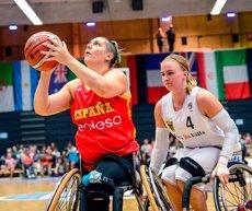 La selecció espanyola femenina cedeix davant Alemanya en els quarts de final del Mundial de bàsquet en cadira de rodes (FEDDF)