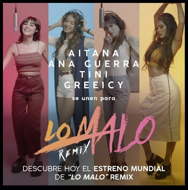 Aitana War exprimirán 'Lo malo' con un remix
