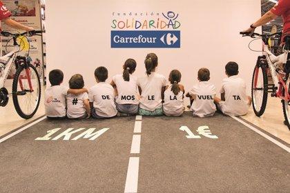 Carrefour pone en marcha 'KM Solidario' a favor de la infancia en situación de vulnerabilidad