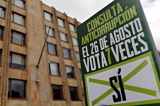 Campaña anticorrupción en Colombia