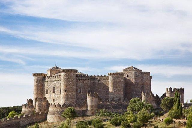 Castillo De Belmonte En La Provincia De Cuenca