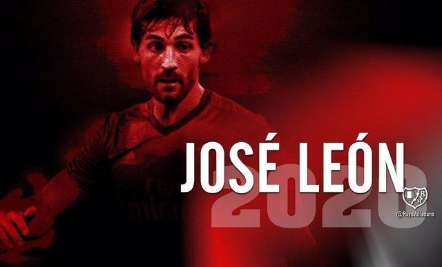 José León, nuevo jugador del Rayo Vallecano