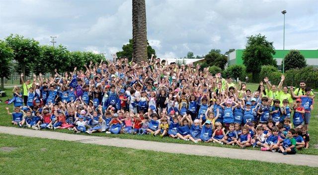 Participantes en las actividades de verano del IMD de Santander