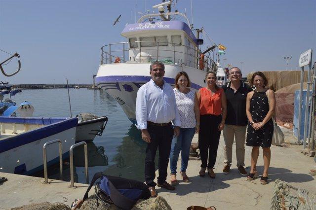 Reunión de Navarro  con la Cofradía de Pescadores de la Caleta de Vélez