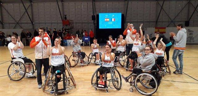 La selección española de baloncesto en silla de ruedas, séptima en el Mundial
