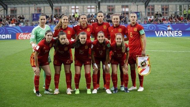 El 'once' titular de la selección española sub-20 en la final del Mundial