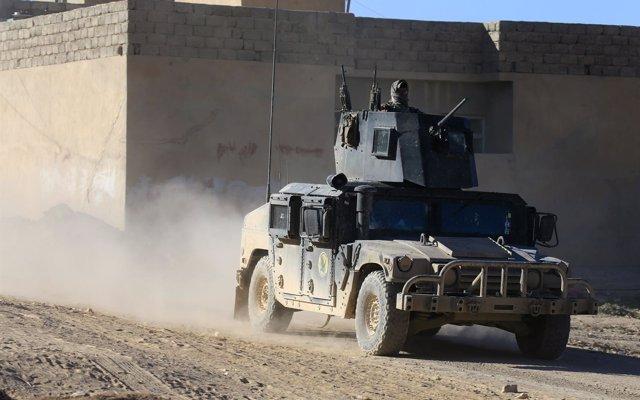 Siete miembros del Estado Islámico muertos en un tiroteo con la Policía en Mosul