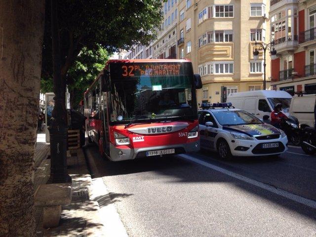 Carril bus de València