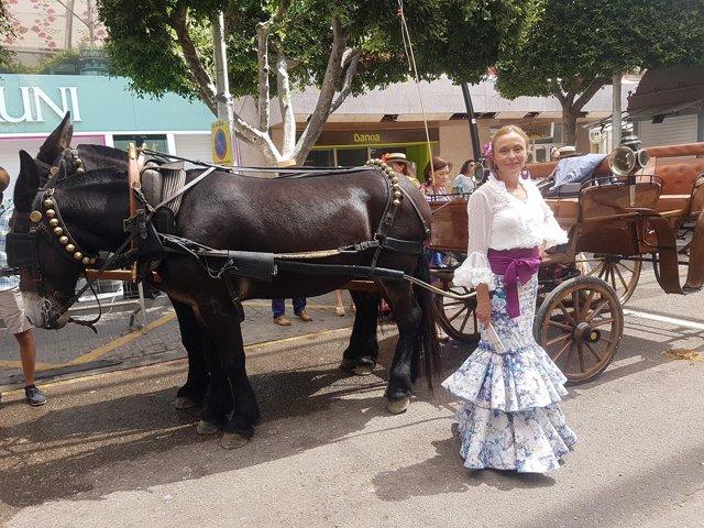 El Paseo de Caballos de la Feria de Almería