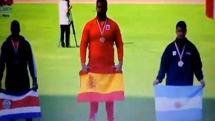 Una confusión en los Juegos Iberoamericanos de Atletismo en Perú hace que suene el himno franquista