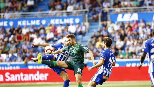 El Betis sigue sin gol en Mendizorrotza