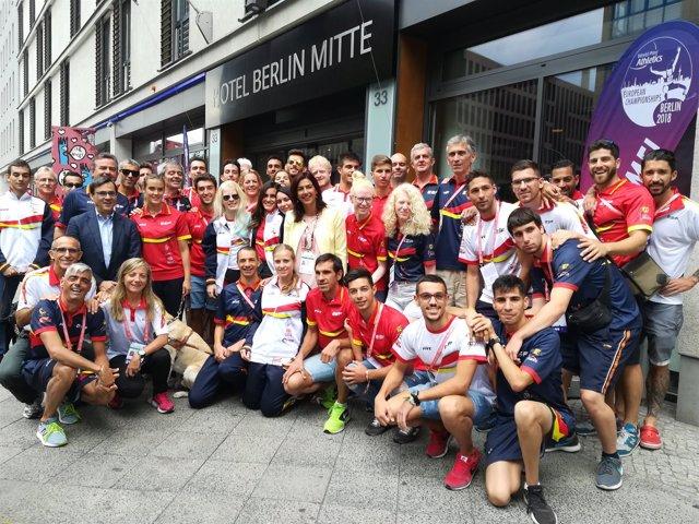 España suma otras tres medallas en el Europeo Paralímpico