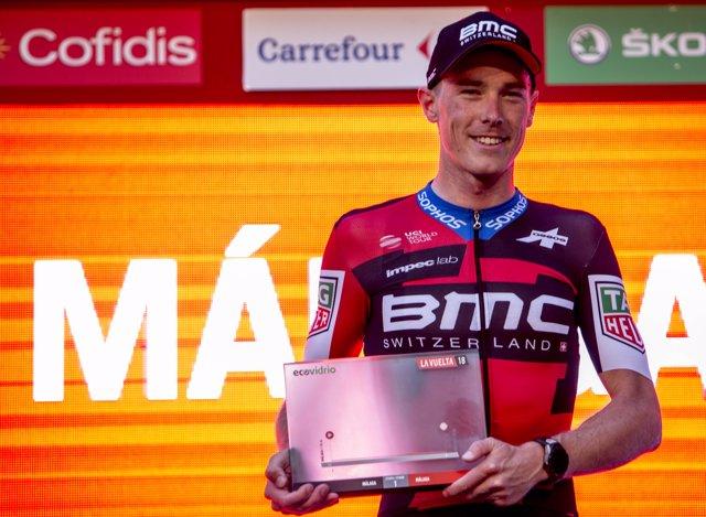 El australiano Rohan Dennis repite como primer líder de La Vuelta