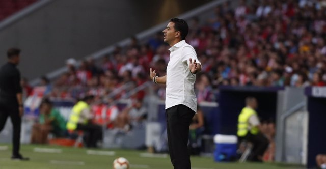Míchel, entrenador del Rayo