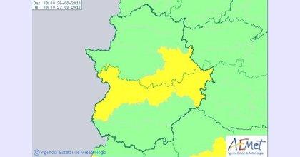El centro de Extremadura permanecerá este domingo en riesgo por altas temperaturas
