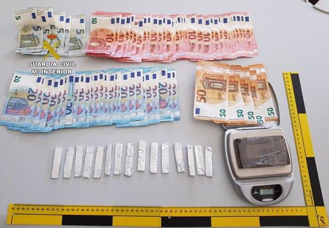 Marihuana, hachís y dinero